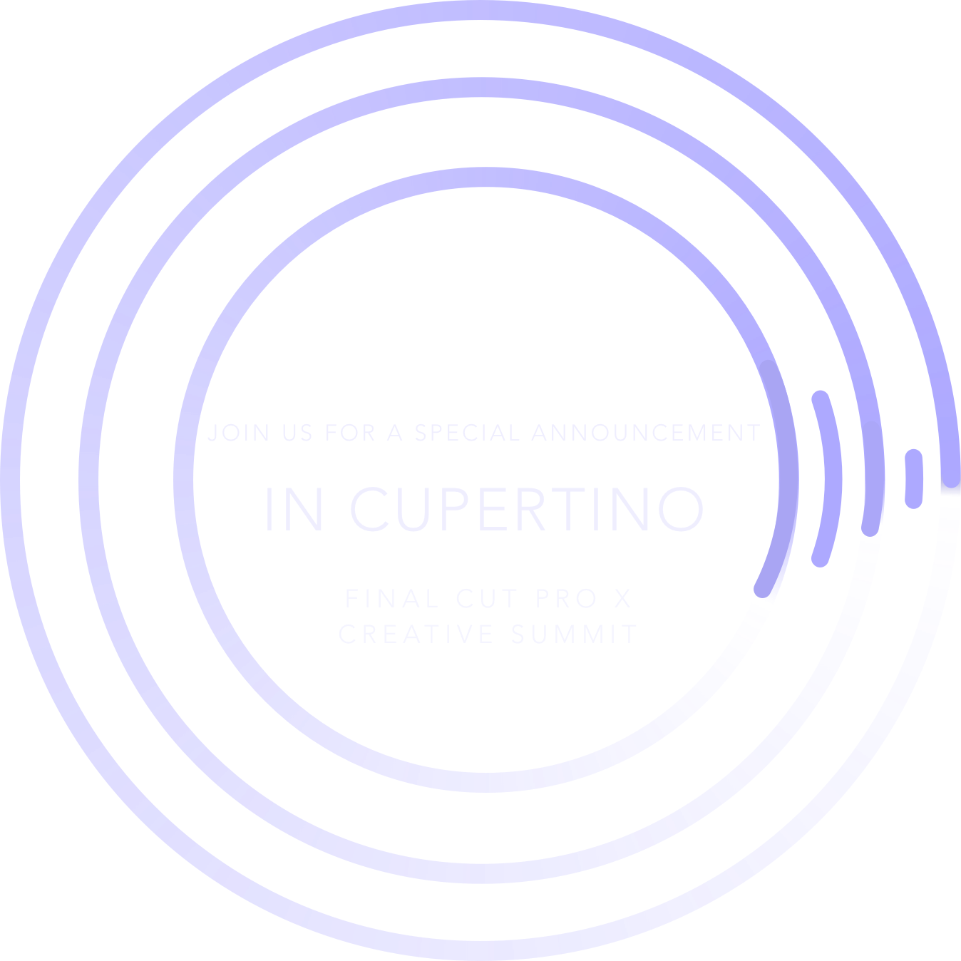 Special Announcement in Cupertino